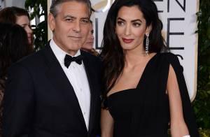 George Clooney : Sa tendre déclaration d'amour à sa femme Amal aux Golden Globes
