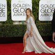 Jennifer Lopez portant une robe Zuhair Murad - La 72ème cérémonie annuelle des Golden Globe Awards à Beverly Hills, le 11 janvier 2015.