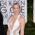 Kate Hudson (en Atelier Versace) aux Golden Globe Awards 2015.