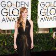 Jessica Chastain en Atelier Versace - La 72ème cérémonie annuelle des Golden Globe Awards à Beverly Hills, le 11 janvier 2015