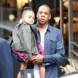 Jay Z et sa fille Blue Ivy à Beverly Hills, le 11 novembre 2014.