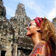 Beyoncé lors des ses vacances en Asie du sud-est - photo publiée sur son compte Instagram le 7 janvier 2015