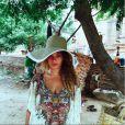 Beyoncé lors des ses vacances en Asie du sud-est - photo publiée sur son compte Instagram le 13 janvier 2015