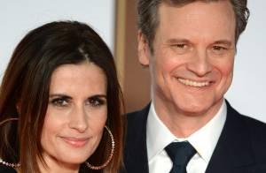 Colin Firth et Livia, duo classe devant Claudia Schiffer, fière et amoureuse