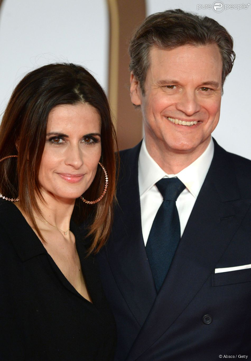 Colin Firth et Livia, ...