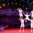 2e soirée du 39e Festival International du Cirque de Monte-Carlo au Chapiteau de Fontvieille à Monaco, le 16 janvier 2015.
