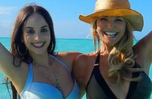 Christie Brinkley : Ses vacances de rêve avec ses enfants et... Justin Bieber !