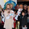 Céline Dion et René Angélil annoncent le retour de la chanteuse à Las Vegas, le 16 février 2011