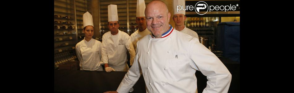 Philippe etchebest 39 j 39 essaie d 39 tre le meilleur p re possible pour oscar louis 39 purepeople - Cauchemar en cuisine philippe etchebest complet ...