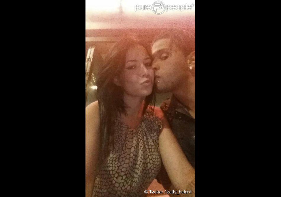 Kelly la Ch'ti et Neymar posent sur Twitter.