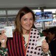 Exclusif - Emmanuelle Boidron - Le 94e Prix d'Amérique Opodo à l'Hippodrome de Paris-Vincennes, le 25 janvier 2015.