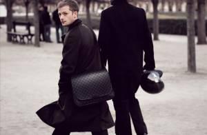 PHOTOS : Nicolas Duvauchelle, mannequin de charme pour Louis Vuitton !