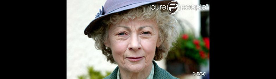 Geraldine McEwan, dans le rôle de Miss Marple.