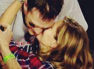 Gisele Bündchen : Le baiser de la victoire à Tom Brady lors du Super Bowl XLIX