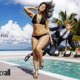 Ashley Graham, star de la nouvelle campagne publicitaire de swimsuitsforall.