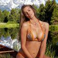 Robyn Lawley, 25 ans, est une des rookies de l'année 2015 du magazine Sports Illustrated Swimsuit. Février 2015.