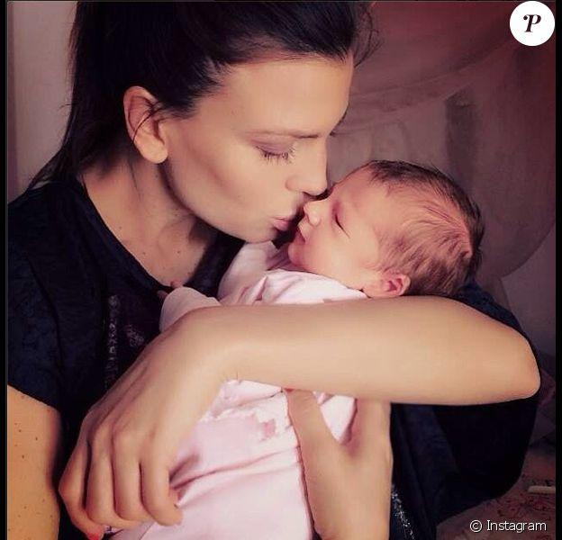 Claudia Galanti et son ex-compagnon Arnaud Mimran ont été confrontés à la mort de leur fille Indila, 9 mois, dans la nuit du 2 au 3 décembre 2014... Photo Instagram.