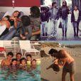 Montage, publié sur Instagram, de moments de la vie de famille de Claudia Galanti lorsqu'elle était enceinte d'Indila. Claudia Galanti et son ex-compagnon Arnaud Mimran ont été confrontés à la mort de leur fille Indila, leur troisième enfant, dans la nuit du 2 au 3 décembre 2014...