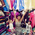 Claudia Galanti (ici avec sa fille Tal et son fils Liam) et son ex-compagnon Arnaud Mimran ont été confrontés à la mort de leur fille Indila, leur troisième enfant, dans la nuit du 2 au 3 décembre 2014... Photo Instagram.