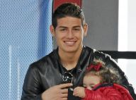 James Rodriguez (Real Madrid): Supporter in love de Daniela avec sa fille Salomé