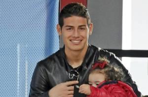 James Rodriguez (Real Madrid): Supporter in love de Daniela avec sa fille Salomé