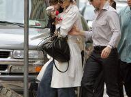 REPORTAGE PHOTOS : Katie Holmes a retrouvé son jean, sa fille et son mari !