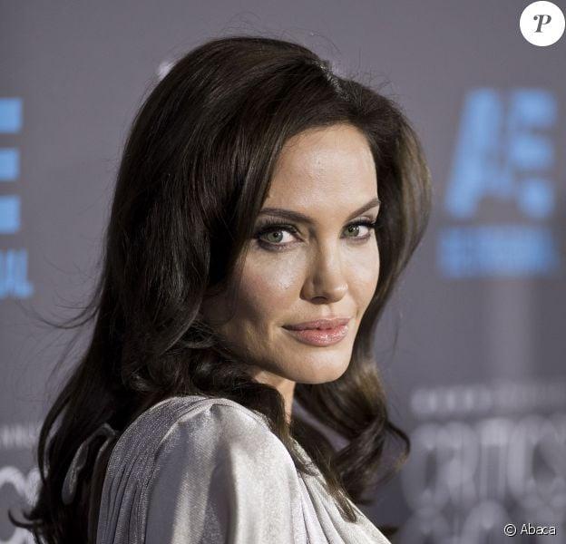 Angelina Jolie à Los Angeles, le 15 janvier 2015.