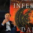 Dan Brown fait le promotion d'Inferno au Palazzo Vecchio à Florence, en juin 2013.