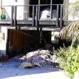 """""""Un incendie s'est déclaré dans la nuit du 11 février 2015 dans la maison de Pierce Brosnan à Malibu."""""""