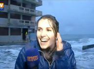 Fanny Agostini (BFMTV) emportée par une vague : Les coulisses de sa grosse chute