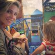 Sur sa page Instagram, Elsa Pataky a ajouté une photo d'elle avec sa fille India Rose le 15 juillet 2014