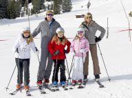 Willem-Alexander et Maxima des Pays-Bas : Pause enneigée avec leurs filles