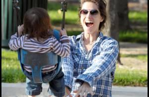 PHOTOS : Amanda Peet s'éclate avec sa fille et son mari !