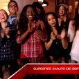 Battle entre Awa Sy et Fanny Mendes dans The Voice 4 sur TF1, le samedi 28 février 2015