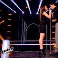Quentin Bruno et Law dans The Voice 4 sur TF1, le samedi 28 février 2015