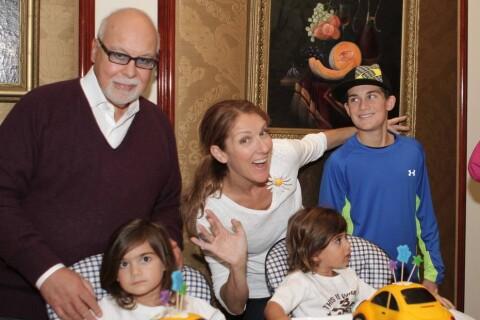 Céline Dion : Ses jumeaux Nelson et Eddy fans d'un énorme brocoli...