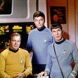 William Shatner, DeForest Kelley et Leonard Nimoy dans Star Trek en 1966