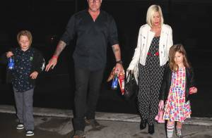 Tori Spelling : Sa famille unie malgré les retrouvailles de son mari avec son ex