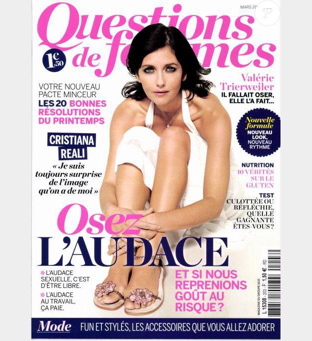 Le magazine Questions de femmes du mois de mars 2015