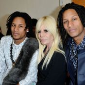 Fashion Week : Donatella Versace et Les Twins applaudissent Anthony Vaccarello
