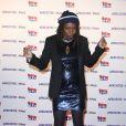 Princess Erika assiste au lancement du label AfrostreamVOD chez TF1 à Boulogne-Billancourt, le 4 mars 2015.