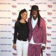 Faada Freddy assiste au lancement du label AfrostreamVOD chez TF1 à Boulogne-Billancourt, le 4 mars 2015.