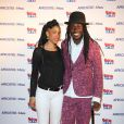 Faada Freddy au lancement du label AfrostreamVOD chez TF1 à Boulogne-Billancourt, le 4 mars 2015.