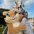 Ingrid Chauvin à Disneyland Paris, mars 2015.