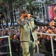 Booba à Cannes, le 19 mai 2014.