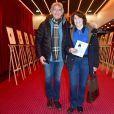 Exclusif - Le chanteur Yves Duteil et sa femme Noëlle au vernissage de l'exposition Barbara,  Trait Pour Trait , du dessinateur Guy Papin au Théâtre Bobino à Paris le 2 mars 2015.