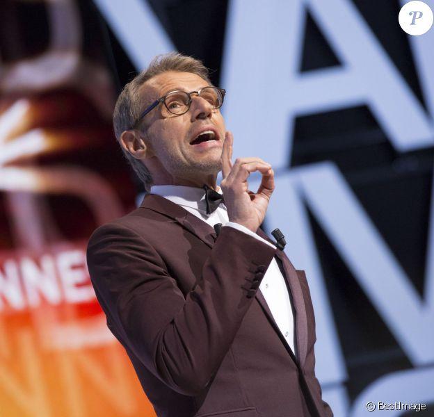 Le maître de cérémonie Lambert Wilson - Cérémonie de clôture du 67e Festival du film de Cannes le 24 mai 2014