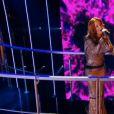 Emji dans la finale de  Nouvelle Star 2015  sur D8, le jeudi 12 mars 2015.