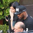 Kylie Jenner et son petit ami Tyga sont allés diner à Beverly Hills, le 14 octobre 2014