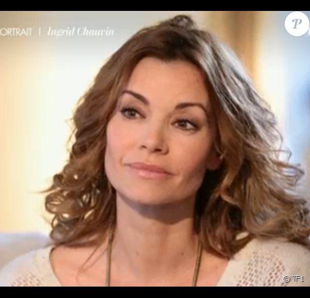 Ingrid Chauvin, en interview pour l'émission 50 Minutes Inside sur TF1, le samedi 14 mars 2015.